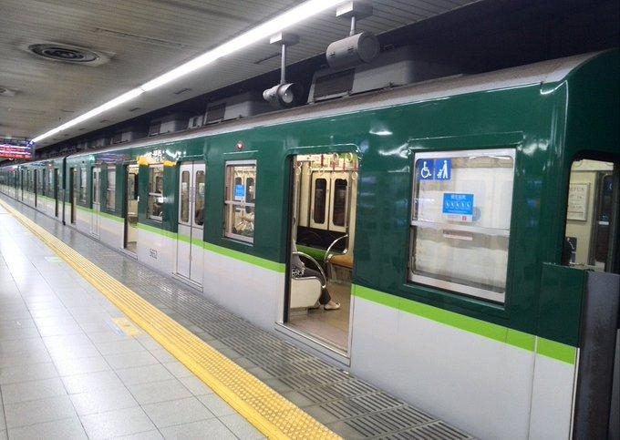 ガラガラの京阪中之島線