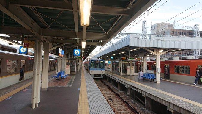 尼崎駅を行き交う色々な鉄道会社の車両たち2