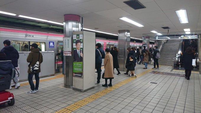 千日前線 阪神・近鉄は壁を隔ててすぐ隣を走る